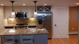 Light Fixtures Over Kitchen Island Cambridge Kitchen Remodel Bay State Refinishing