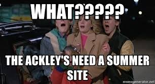 Adventures In Babysitting Meme - what the ackley s need a summer site adventures in