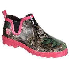 realtree women u0027s ms gi gi green pink camo rain boots free