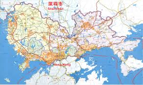 China On A Map Journey To My Home Hong Kong And China By Lee Siu Hin