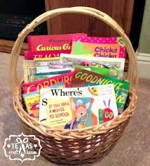 book gift baskets baby shower book basket gift craft house
