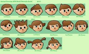 hair styles at the shoodle in animal crossing new leaf collections of animal crossing hairstyles new leaf cute