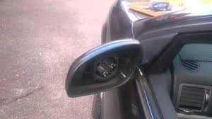 changing a door mirror glass on a vauxhall vectra c youtube