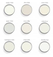 glamorous 30 best white paint colors decorating design of best 25