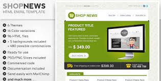30 free and premium html email newsletter templates for online