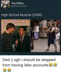 Musical Meme - the office scenes high school musical 2006 ded ugh i should be