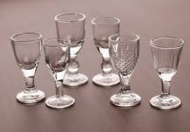 small white wine glass glass cup goblet all imprint