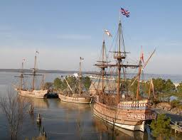 jamestown the ships that delivered thanksgiving bearboat
