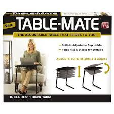 table mate tv tray as seen on tv table mate black warehouse stationery nz
