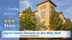 Comfort Suites Ontario Ca Ayres Suites Ontario At The Mills Mall Ontario Hotels