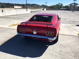 1969 ford mustang fastback mack 1 s code 390
