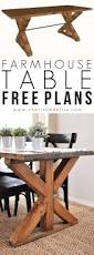 dining room table woodworking plans kitchen chronicles building a fancy x farmhouse table farmhouse