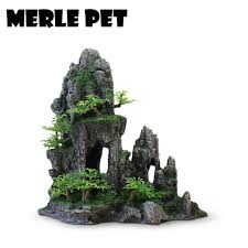 aliexpress buy merle pet decorative rocks landscape rockery