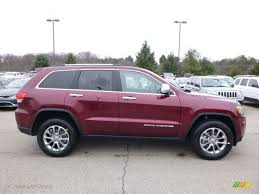 jeep red 2016 2016 velvet red pearl jeep grand cherokee limited 4x4 110642443