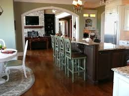 Kitchen Island Tables With Stools Kitchen Remarkable Wooden Kitchen Island With Stools On Four