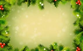 free green christmas frame backgrounds for powerpoint christmas