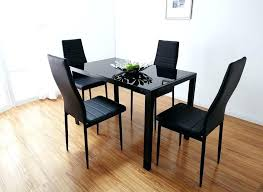 glass top dining table set 4 chairs round glass dining table set for 4 solomailers info