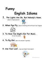 grade 7 grammar lesson 16 idioms 2 grade 7 grammar lessons 1