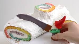 Decoration Fondant Cake Christmas Cake Decoration Idea Dwarf Yule Log Bûche De Noël