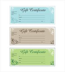 14 business gift certificate templates u2013 free sample example