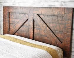Old Door Headboards For Sale by Reclaimed Wood Headboard Etsy