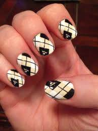 pittsburgh penguins argyle nail design nailwraps myncla nailed
