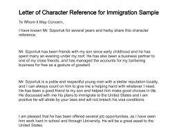 immigration recommendation letter sample u2013 template design