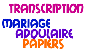 documents mariage transcription mariage franco marocain procédure mariage franco