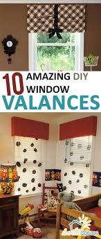 window valances ideas 10 amazing diy window valances