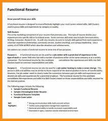 functional resume lovinglyy us