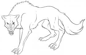baby wolf coloring pages print kids coloring