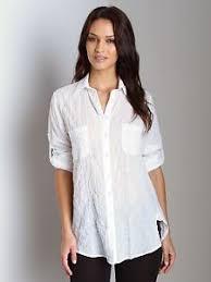 Black Blouse With White Collar Women U0027s Tops U0026 Blouses Ebay