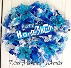 hanukkah decorations sale hanukkah wreath designer hanukkah decorations by tjscreativecrafts