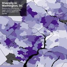 Zip Code Map Washington by America U0027s Most Diverse Neighborhoods And Metros