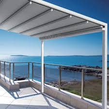 Retractable Sun Awning Retractable Awning Retractable Awnings Black And Yellow Striped