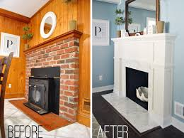 House Makeover Shows Our 200 Fireplace Makeover Marble Tile U0026 A New Mantel Young