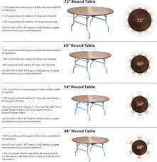 Table Linen Sizes - tablecloth size for 5ft round table u2022 table ideas