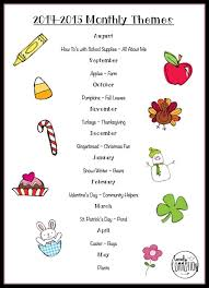 best 25 preschool monthly themes ideas on pinterest pre