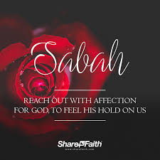 hebrew words for praise sabah reach out with affection for god