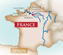 thames river map europe paris to normandy cruise european river cruise