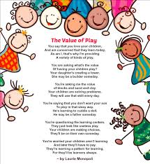 Poem About Halloween Value Of Play Poem The Learning Station Blog