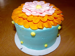 flower fondant cakes free images sweet flower decoration orange food yellow