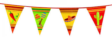 Mexixan Flag Mexican Flag Garland Vegaoo