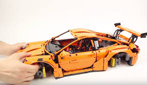 porsche lego here u0027s proof the new lego technic porsche 911 gt3 rs is