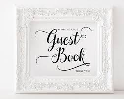 wedding guest book sign sign a heart sign printable wedding guest book sign