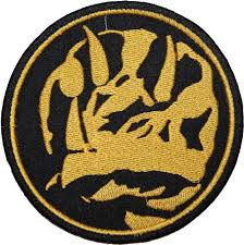 power rangers blue ranger insignia embroidered patch sew iron