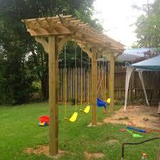 Backyard Swing Set Ideas Best 25 Swing Set Plans Ideas On Pinterest Swing Sets Diy Ba Diy