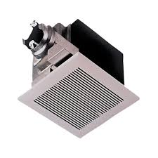 panasonic deluxe 80 cfm ceiling bathroom exhaust fan with cfl