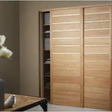 porte chambre leroy merlin porte de placard coulissante pack 2 portes rails l180xh250cm