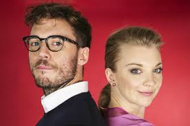 natalie dormer w e natalie dormer and sam claflin play a to see how they d
